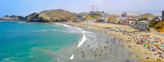 Playa Asia en lima